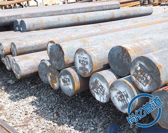 法兰生产原材料圆钢